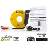 Capturadora Video Audio Usb Easy Cap Pc Laptop Ps2 Dvd Ps3