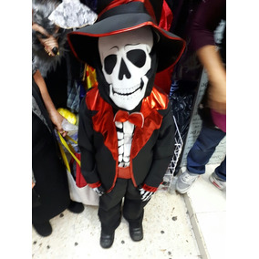 Disfraz Catrin Niño Mascara Sombrero Y Guantes