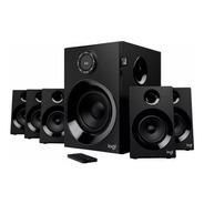 Sistema De Audio Logitech Z607 Negras 5.1 80 Watts Rms Bluetooth Con