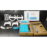 Nintendo Wii Blue Console Limited