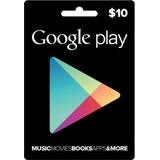 Google Play 10usd Gift Card - Promoción!