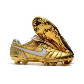 36ce4a0545 Chuteira Nike Tiempo 10 Ronaldo - Chuteiras no Mercado Livre Brasil