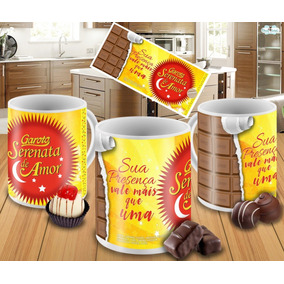 Caneca Chocolate Serenata De Amor