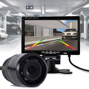 Kit Camera De Ré Visão Noturna + Monitor 7 Polegadas K93
