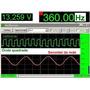 Osciloscópio Digital Frequencímetro Voltímetro Som Rta