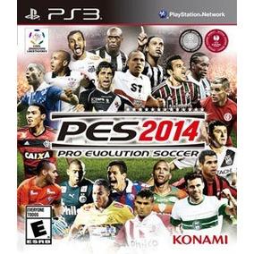 Pro Evolution Soccer 2014 Ps3 Mídia Física Original