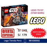 Lego Star Wars 75137 Stock Entrega Lima Perú