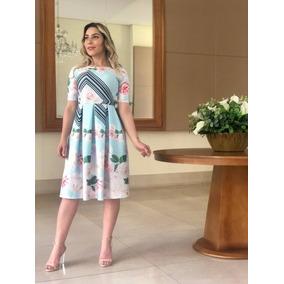 Kit 2 Vestidos Ester Moda Evangélica