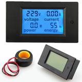Wattímetro Digital Amperímetro Voltímetro Medidor Kilowatts