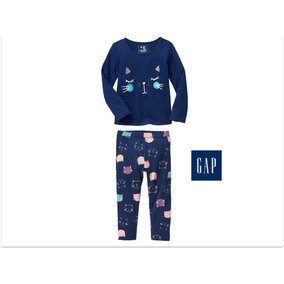 Envio Gratis Conjunto Ropa Leggings Blusa Gap Niña Bebé