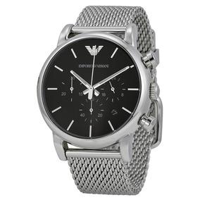 Relógio Luxo Emporio Armani Ar1811 Aço Inox Ref00016