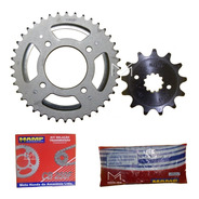 Kit De Transmision Honda Cb250 New Twister Original Mdelta