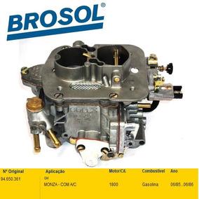 Carburador Monza 1.8 Gasolina 85/86 Solex Duplo 30/34 Blfa