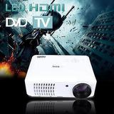 Hd 1080 Cine Teatro Multimedia Tv Usb Led Proye-282661305131