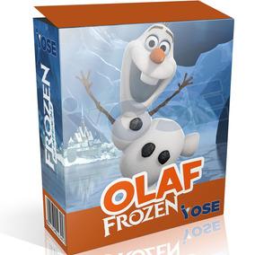 Kit Imprimible Frozen Diseño Olaf + Envío Inmediato