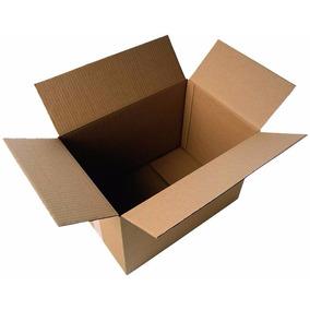 Caja De Carton 20cm Largo 11 Cm Alto 16 Cm Ancho Empaque