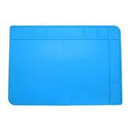 Manta Tapete Antiestática Sili Azul Klte-508 Exbom 480x340mm