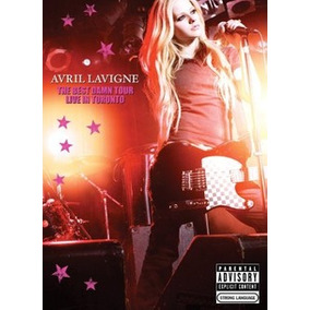 Dvd Avril Lavigne The Best Damn Tour + Revista + Pôster