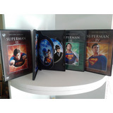 Superman 1,2,3,4, Dvd Originales