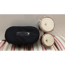 Bongo Edição Especial 6x7 Com Bag Termico Hunter Percussão