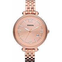 Relógio Fossil Feminino Fes3130z.
