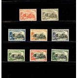 Sellos Postales De Chile. Conferencia Panamericana. 1923.