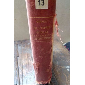 Libro Antiguo Cristianismo, En Frances, Principios Siglo Xx