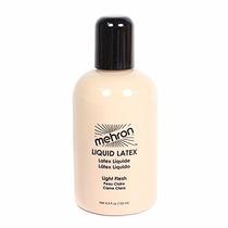 Maquillaje Mehron Liquid Latex, Light Flesh 4.5 Oz