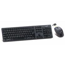 Combo Teclado Mouse Inalambrico 2.4ghz Genius Slimstar 8000