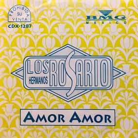 Cd Los Hermanos Rosario Amor Amor Promo Usado