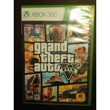 Juego Xbox 360 Gta V