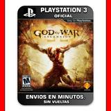God Of War Ascension Ps3 Español Latino :: Digital ::