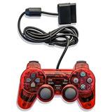 Elementdigital Controlador Ps2 Juego De Juegos Con Cable, T