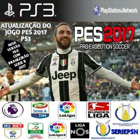 Patch (atualização) Pes2017 Ps3 Brasileirão 2017 Série A & B