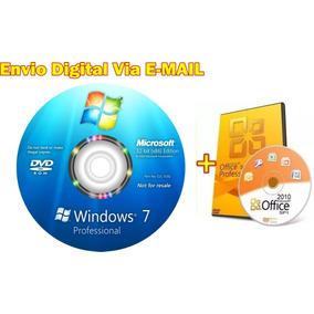 Cd Formatação Windows 7 Pro 32bits + Office 32/64 Bits