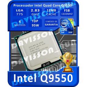 Processador 775 Intel Core 2 Quad Q9550 2.83ghz 12mb+brinde