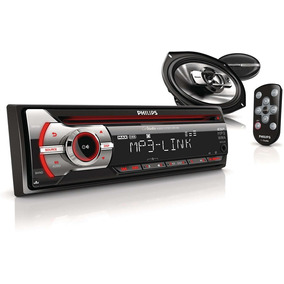 Estéreo Para Auto Philips Cmb1100 Mp3 Max Sound Amplif.