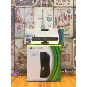 Xbox 360 Slim Desbloqueado+ Kinect+ 10 Jogos Em 12x S/ Juros