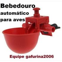 50 Bebedouro Automático Galinha Frango, Codorna, Galinheiro
