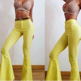 Pantalones Oxford Tiro Alto Elastizados - Pantalones en Mercado ... d8985019c792