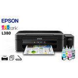 Impresora Epson L380 Multifuncional Sistema Cont. Original