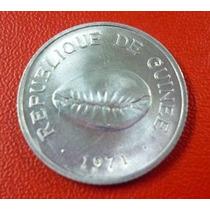 Guinea Moneda 50 Cauris 1960 Unc