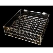 Caixa / Estojo Porta 100 Batom Líquido Acrílico Organizador