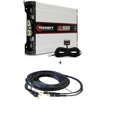 Amplificador Taramp`s Hd 5000 + (rca De Brinde)