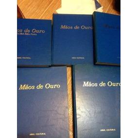 Vendo Coleção De Livros Mãos De Ouro Com 5 Livros