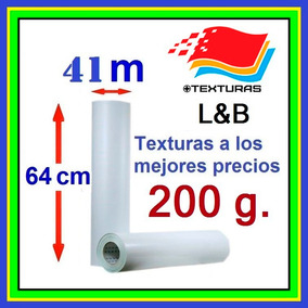 Textura Fotográficas, 64cmx41m, 200 Gramos.