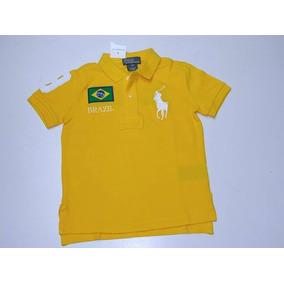 Polo Ralph Lauren Menino Kids Original Camisa Camiseta 4c2ecb1716b