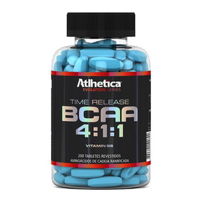 Bcaa Time Release 4:1:1 (200tabs) Atlhetica Nutrition