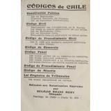 Eulogio Rojas Mery Codigos De Chile