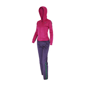 Conjunto Dama Fucsia Slim Fit Authentic Entrenamiento Kappa